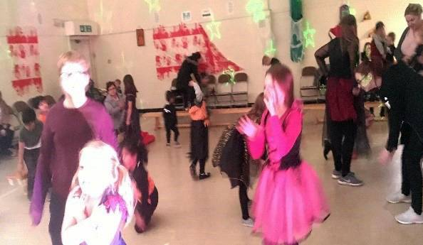 Community Halloween Disco Event